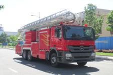 中卓时代牌ZXF5320JXFDG32型登高平台消防车