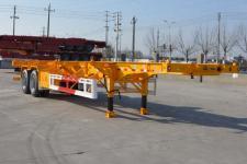天骏德锦牌TJV9350TJZE型集装箱运输半挂车图片