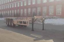 路斯牌MBS9403TJZLH型铝合金集装箱运输半挂车图片
