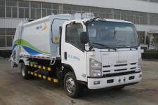 中集牌ZJV5100ZYSHBQ5型压缩式垃圾车图片