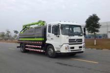 中联牌ZLJ5189GQXDFE5型下水道疏通清洗车图片