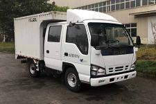 庆铃牌QL5040XXYA5EWJ型厢式运输车图片