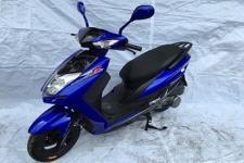 晶鹰牌JY125T-3F型两轮摩托车图片