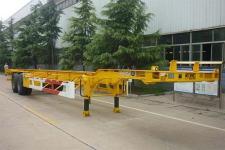 梁山东岳牌CSQ9355TJZG型集装箱运输半挂车图片