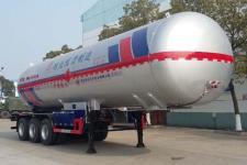 程力威牌CLW9409GYQB型液化气体运输半挂车