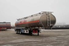 万事达牌SDW9409GRYA型铝合金易燃液体罐式运输半挂车