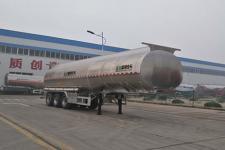 盛润牌SKW9407GYSL型铝合金液态食品运输半挂车图片