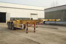 郓腾12.3米34.5吨3轴集装箱运输半挂车(HJM9400TJZ)