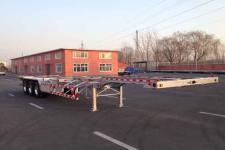 路斯牌MBS9402TJZLH型铝合金集装箱运输半挂车图片