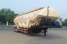中汽力威牌HLW9401GFL型低密度粉粒物料运输半挂车图片