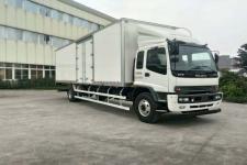 庆铃牌QL5180XXYVTFR1J型厢式运输车图片