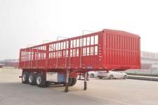 梁�N牌SHS9403CCY型仓栅式运输半挂车