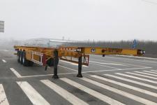 骏强牌JQ9408TJZ型集装箱运输半挂车图片