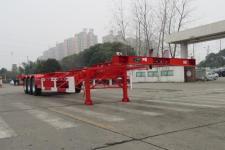 通华牌THT9406TJZB型集装箱运输半挂车图片
