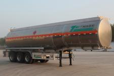 景阳岗牌SFL9390GRYL型铝合金易燃液体罐式运输半挂车