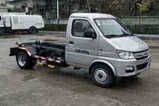 陕汽牌SBT5030ZXXAD1型车厢可卸式垃圾车图片