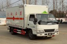 程力威牌CLW5061XRQJ5型易燃气体厢式运输车