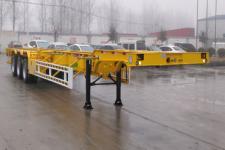 勇超牌YXY9405TJZE型集装箱运输半挂车图片