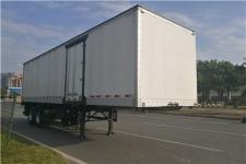 中集10.1米20.8吨2轴厢式运输半挂车(ZJV9270XXYSZB)