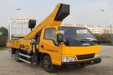 柳工牌CLG5041JGKE型高空作业车