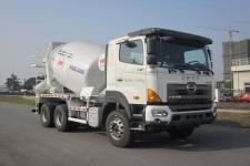 华建牌HDJ5259GJBGH型混凝土搅拌运输车