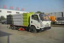 华通牌HCQ5083TXSJX5型洗扫车