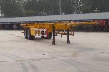 勇超牌YXY9350TJZ型集装箱运输半挂车图片