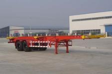 梁山东岳牌CSQ9350TJZG型集装箱运输半挂车图片