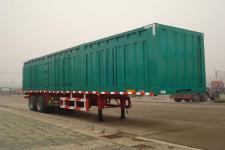 梁山东岳牌CSQ9270XXYB型厢式运输半挂车图片
