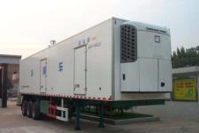 国道牌JG9350XLC型冷藏半挂车图片
