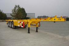 中集牌ZJV9401TJZDY型集装箱运输半挂车图片