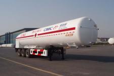 圣达因牌SDY9390GDYT型低温液体运输半挂车图片