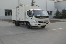 福田奧鈴國四單橋廂式運輸車110-131馬力5噸以下(BJ5049XXY-BF)