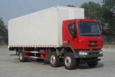 东风柳汽国四前四后四厢式运输车180-220马力15-20吨(LZ5250XXYRCMA)