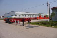 亚中车辆牌WPZ9400TJZG型集装箱运输半挂车