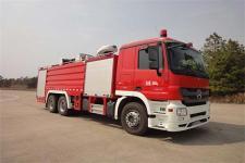 永强奥林宝牌RY5292GXFPM120/N型泡沫消防车