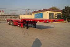 亚中车辆牌WPZ9401TPB型平板运输半挂车