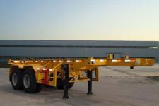 梁山东岳牌CSQ9352TJZ型集装箱运输半挂车图片