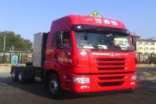解放牌CA4255P2K15T1NE5A80型危险品运输半挂牵引车图片