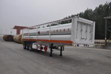 鲁西牌LXZ9380GGY型液压子站高压气体长管半挂车图片