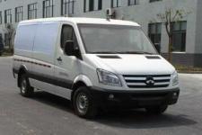 卡威牌JNQ5040XXYBEV型纯电动厢式运输车