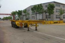 兴华牌LXH9400TJZ型集装箱运输半挂车图片