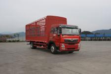 豪曼牌ZZ5168CCYF10EB0型仓栅式运输车图片