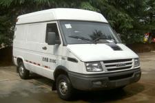 依维柯牌NJ5045XXYQ7A型厢式运输车图片