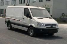 卡威牌JNQ5040XXYBEV1型纯电动厢式运输车图片