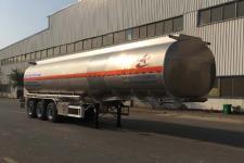 昌骅11.7米33.5吨3轴铝合金食用油运输半挂车(HCH9406GSY)