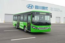 南骏牌CNJ6780JQDV型城市客车