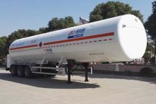 圣达因牌SDY9381GDYT型低温液体运输半挂车图片