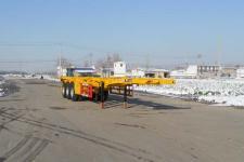 红荷北斗牌SHB9400TJZ型集装箱运输半挂车图片