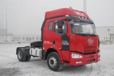 解放牌CA4180P63K1E5Z型危险品运输半挂牵引车图片